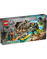 LEGO Jurassic World: T. rex és Dino-Mech csatája 75938 - 1. Kép