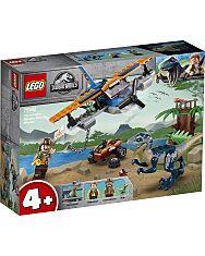 LEGO® Jurassic World: Velociraptor - Kétfedelű repülőgépes mentőakció 75942 - 1. Kép