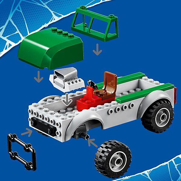 LEGO® Marvel Super Heroes: Keselyű teherautó rablás 76147 - 13. Kép