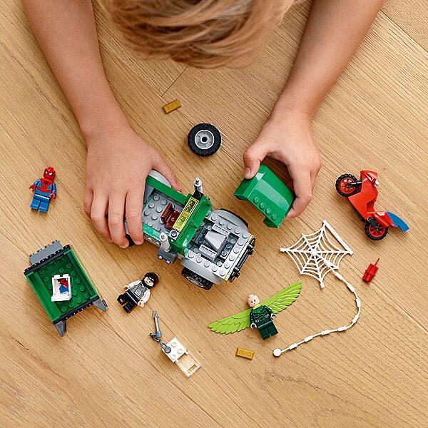 LEGO® Marvel Super Heroes: Keselyű teherautó rablás 76147 - 15. Kép