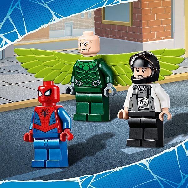 LEGO® Marvel Super Heroes: Keselyű teherautó rablás 76147 - 5. Kép
