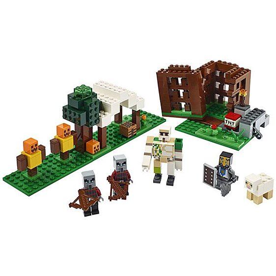 LEGO Minecraft: A Fosztogató őrtorony 21159 - 2. Kép