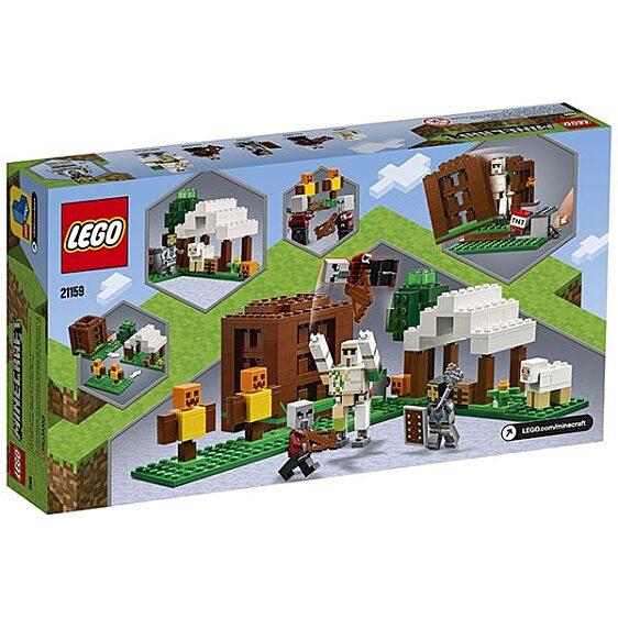 LEGO Minecraft: A Fosztogató őrtorony 21159 - 3. Kép