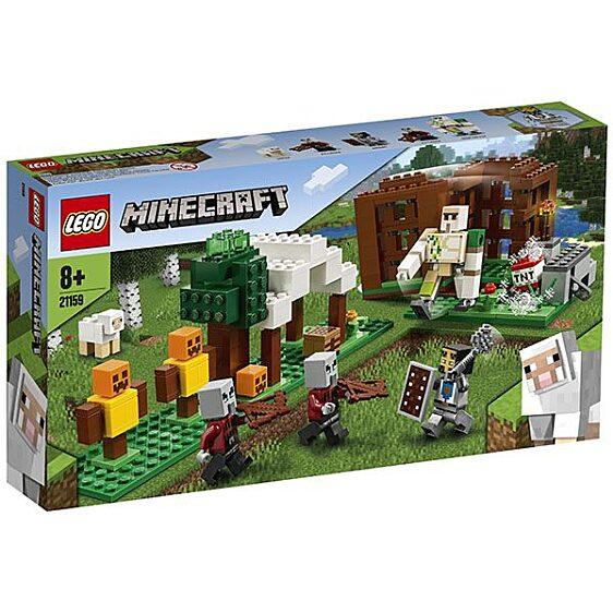 LEGO Minecraft: A Fosztogató őrtorony 21159 - 1. Kép