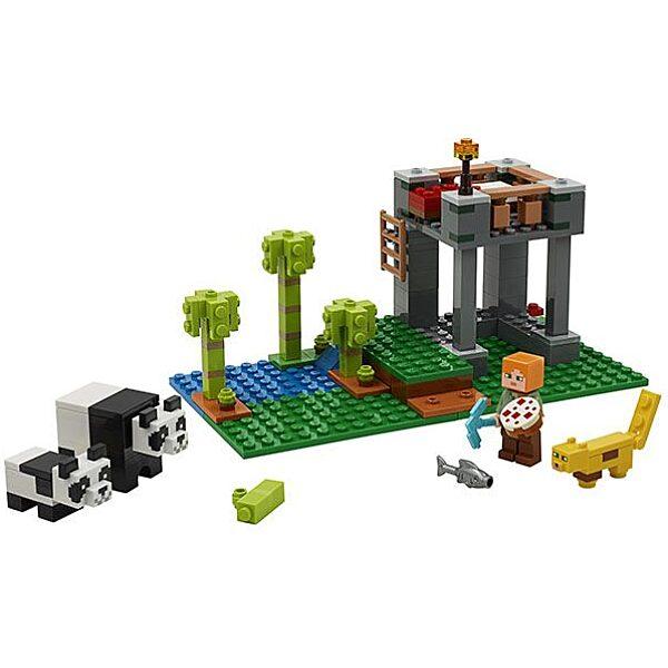LEGO Minecraft: A pandabölcsőde 21158 - 2. Kép