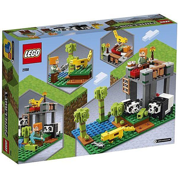 LEGO Minecraft: A pandabölcsőde 21158 - 3. Kép