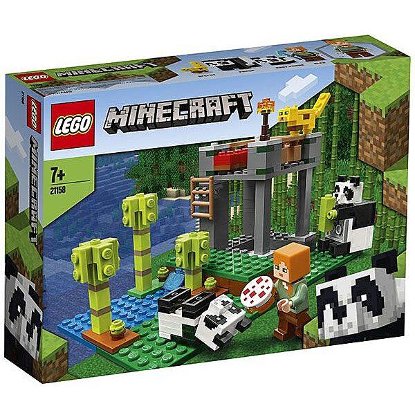 LEGO Minecraft: A pandabölcsőde 21158 - 1. Kép