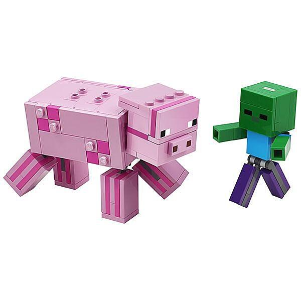 LEGO Minecraft: BigFig malac Zombibabával 21157 - 2. Kép