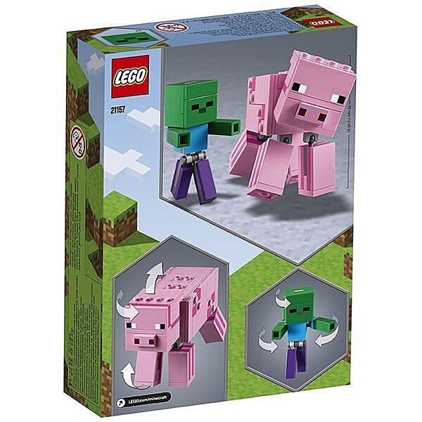 LEGO Minecraft: BigFig malac Zombibabával 21157 - 3. Kép