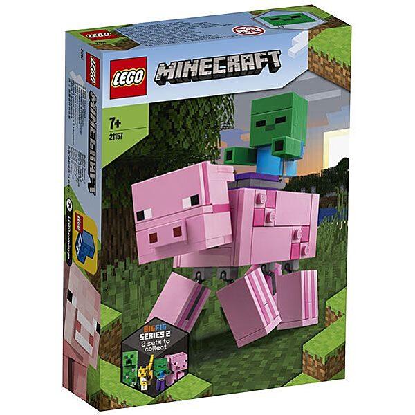 LEGO Minecraft: BigFig malac Zombibabával 21157 - 1. Kép