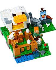 LEGO Minecraft: Csirkeudvar 21140 - 2. Kép