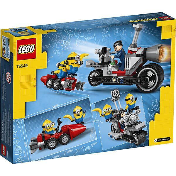 LEGO Minions: Megállíthatatlan motoros üldözés 75549 - 3. Kép