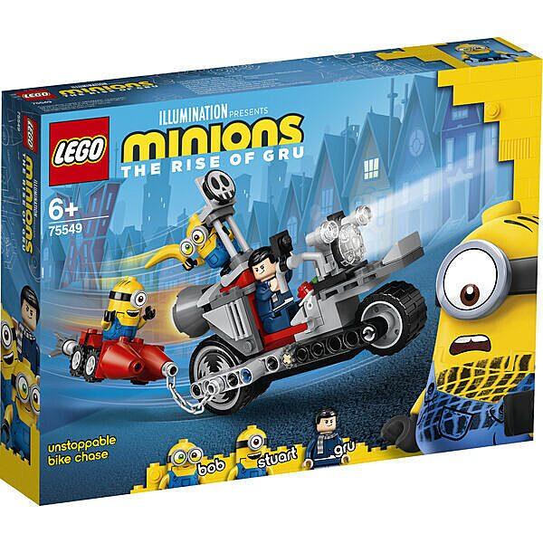 LEGO Minions: Megállíthatatlan motoros üldözés 75549 - 1. Kép