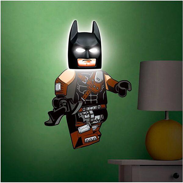 LEGO Movie 2: Batman lámpa falmatricával - 2. Kép