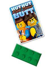 LEGO Movie 2: Emmet és Rex kapitány radírkészlet - 2. Kép