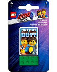 LEGO Movie 2: Emmet és Rex kapitány radírkészlet - 1. Kép
