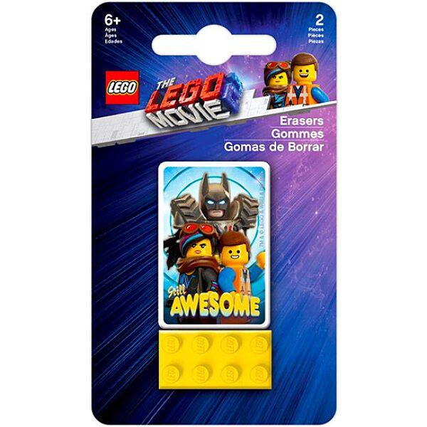 LEGO Movie 2: radírkészlet - 1. Kép