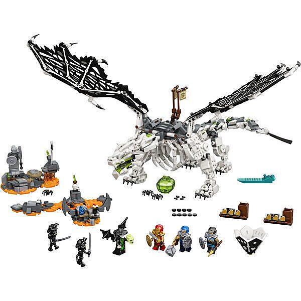 LEGO Ninjago: A koponyavarázsló sárkánya 71721 - 2. Kép