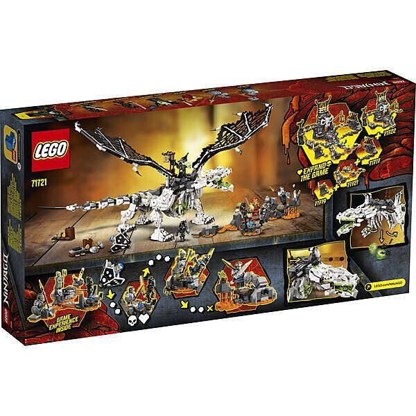 LEGO Ninjago: A koponyavarázsló sárkánya 71721 - 3. Kép