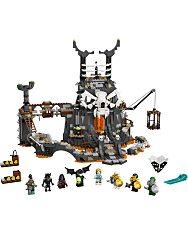 LEGO Ninjago: A koponyavarázsló tömlöcei 71722 - 2. Kép