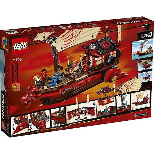 LEGO Ninjago: A Sors Adománya 71705 - 3. Kép
