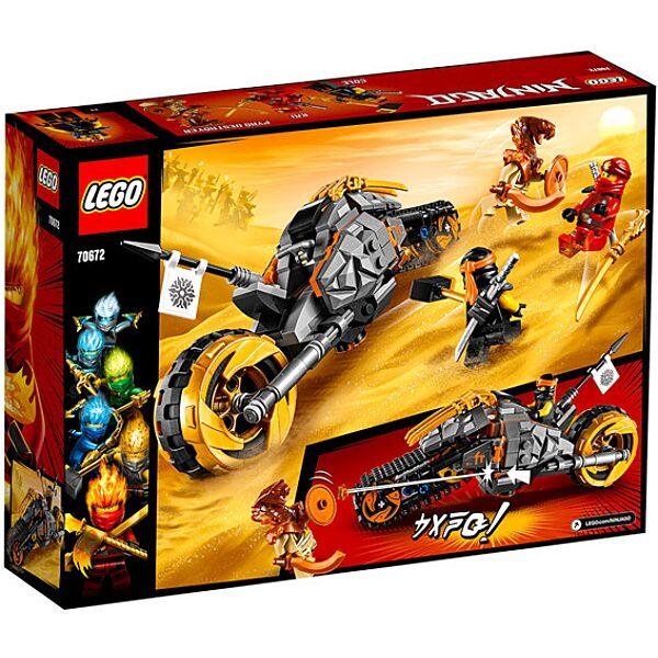 LEGO Ninjago: Cole cross motorja 70672 - 3. Kép