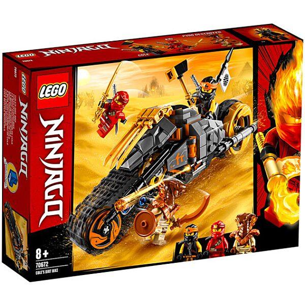 LEGO Ninjago: Cole cross motorja 70672 - 1. Kép