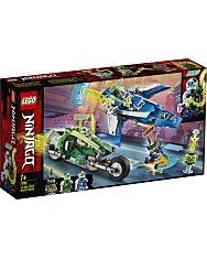 LEGO® Ninjago: Jay és Lloyd versenyjárművei 71709 - 1. Kép