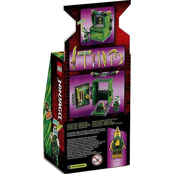 LEGO Ninjago: Lloyd Avatár - Játékautomata 71716 - 3. Kép