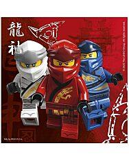 Lego Ninjago szalvéta 33 x 33 - 16 db - 1. Kép