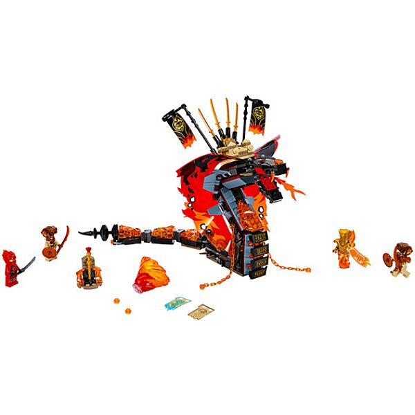 LEGO Ninjago: Tüzes Agyar 70674 - 2. Kép