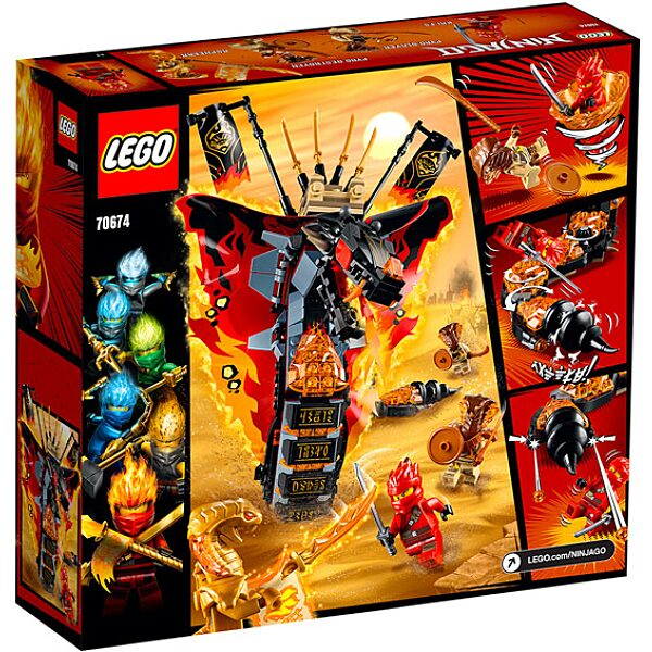 LEGO Ninjago: Tüzes Agyar 70674 - 3. Kép