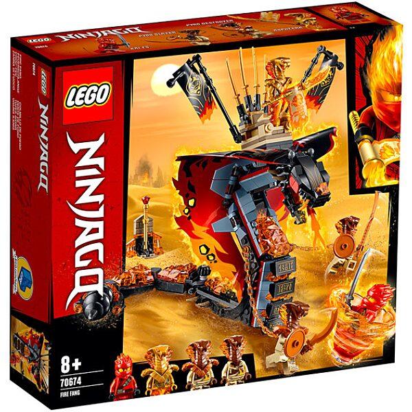 LEGO Ninjago: Tüzes Agyar 70674 - 1. Kép