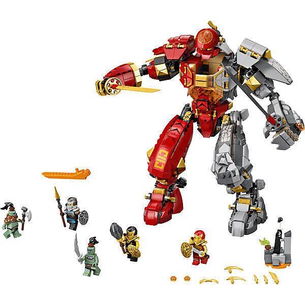 LEGO Ninjago: Tűzkő robot 71720 - 2. Kép