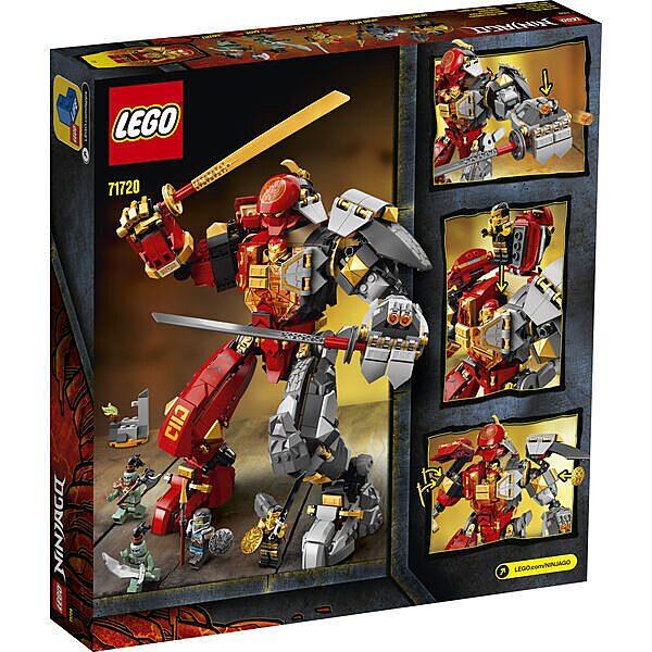 LEGO Ninjago: Tűzkő robot 71720 - 3. Kép