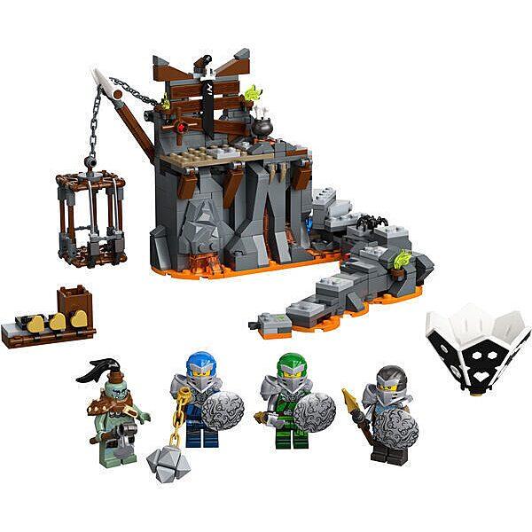 LEGO Ninjago: Utazás a koponyás tömlöcbe 71717 - 2. Kép