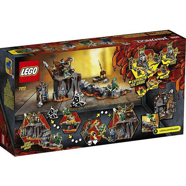 LEGO Ninjago: Utazás a koponyás tömlöcbe 71717 - 3. Kép