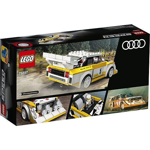 LEGO Speed Champions: 1985 Audi Sport quattro S1 -76897 - 3. Kép