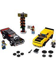 LEGO Speed Champions: 2018 Dodge Challenger SRT Demon és 1970 Dodge Charger RT 75893 - 2. Kép