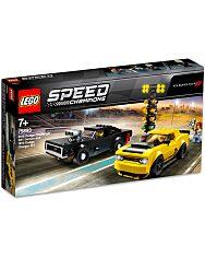 LEGO Speed Champions: 2018 Dodge Challenger SRT Demon és 1970 Dodge Charger RT 75893 - 1. Kép