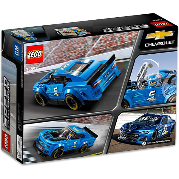 LEGO Speed Champions: Chevrolet Camaro ZL1 versenyautó 75891 - 3. Kép