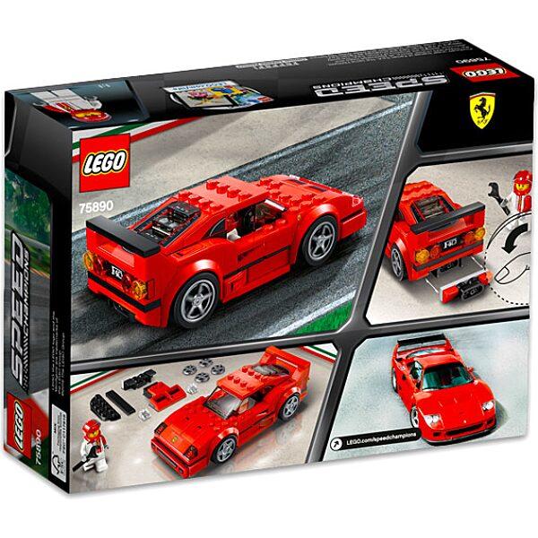 LEGO Speed Champions: Ferrari F40 Competizione 75890 - 3. Kép