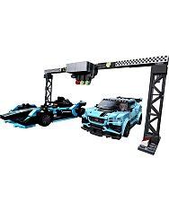 LEGO Speed Champions: Formula E Panasonic Jaguar Racing GEN2 car & Jaguar I-PACE eTROPHY 76898 - 2. Kép