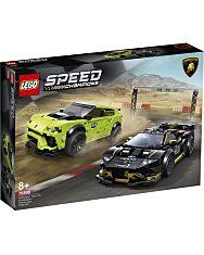 LEGO Speed Champions:Lamborghini Urus ST-X & Lamborghini Huracán Super Trofeo EVO 76899 - 1. Kép