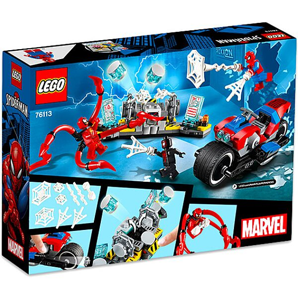 LEGO Super Heroes: Pókember motoros mentése 76113 - 3. Kép