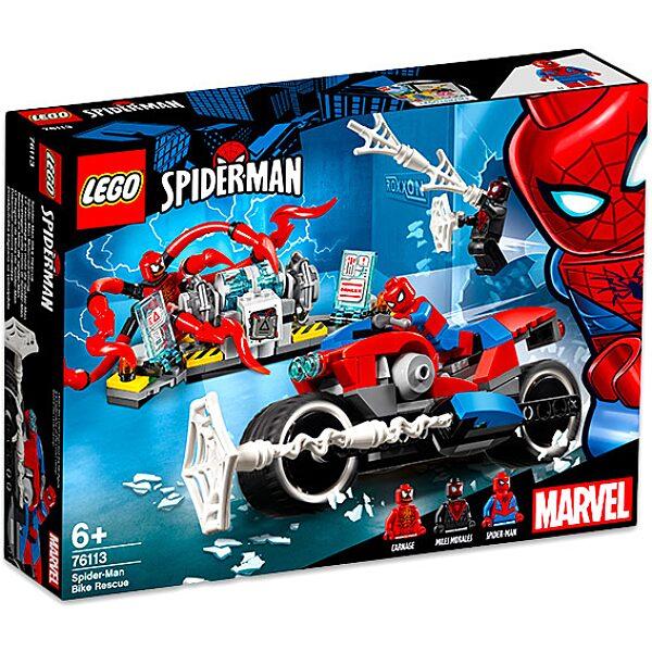 LEGO Super Heroes: Pókember motoros mentése 76113 - 1. Kép