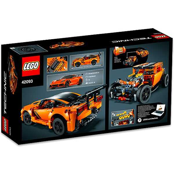 LEGO Technic: Chevrolet Corvette ZR1 42093 - 3. Kép