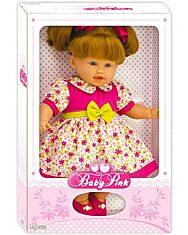 Loko: hajas baba nyári ruhában - 39 cm - 2. Kép