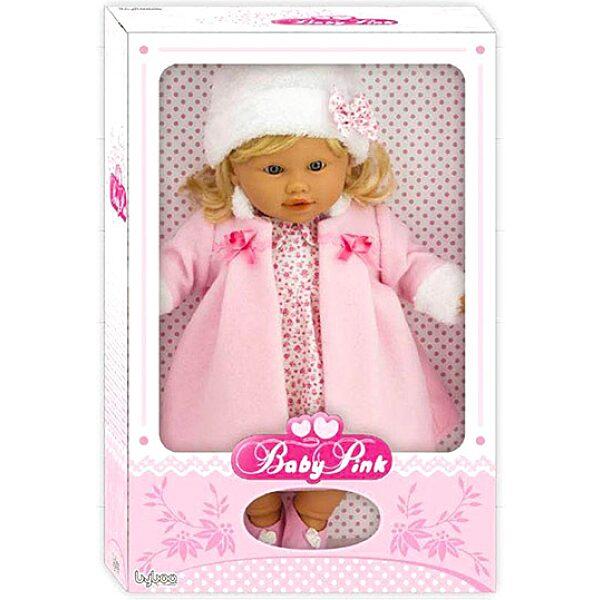 Loko: hajas baba téli ruhában - 39 cm - 2. Kép