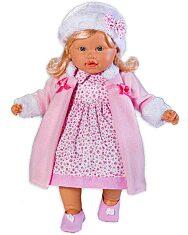 Loko: hajas baba téli ruhában - 39 cm - 1. Kép
